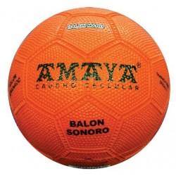 PELOTA SONORA balonmano caucho Ø150.