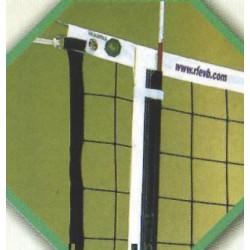 JUEGO DE BANDAS CORREDERAS para antenas de voleibol.