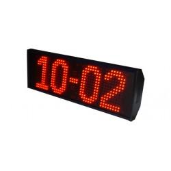 RELOJ TERMOMETRO  Perfecta legibilidad hasta 100 metros. Altura del caracter 20 cm