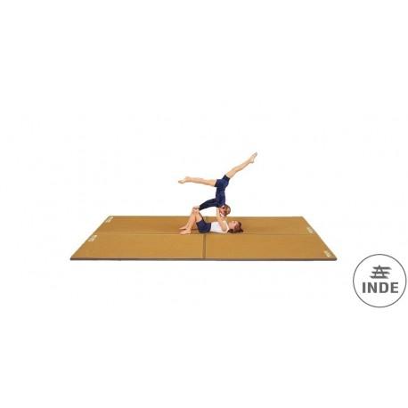 TAPIZ COLCHONETA para gimnasia rítmica artística y  ejercicio  en suelo en general. Medidas: 200x150x3.5cm. Peso 6Kg