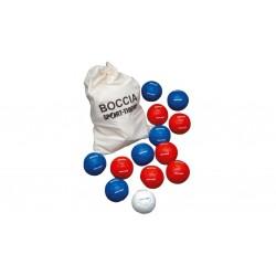 BOCCIA. Cuero sintetico. 13 bolas