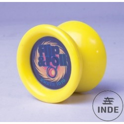 Yoyo Flip and Roll. Yoyo de aprendizaje. Fabricado en resina. Con rodamiento. Ø 52 mm