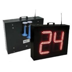 """DOS MODULOS CONTROL de la regla de 24"""" de baloncesto MONDO. Via cable-radio"""