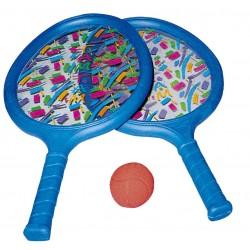 SET RAQUETA TAN-TAN, juego de 2 raquetas y 1 pelota.