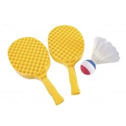 SHUTTLEBALL. Juego de 2 raquetas y 1 volante.