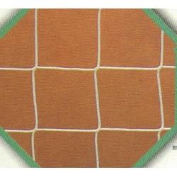 JUEGO REDES FÚTBOL P.P. sin nudo 4 mm., malla de 100mm.Blanca o colores