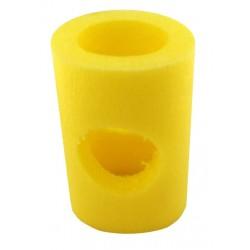 CONECTOR UNIVERSAL para flotador cilíndrico de polietileno expandido. 1 agujeros