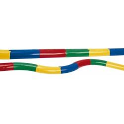 PASILLO SEMICILINDRICO recto/curvo, longitud 30 cm., caja de 10 piezas .