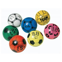 PELOTA DECORADA FÚTBOL: Team, Furia,Super 5 o Club.