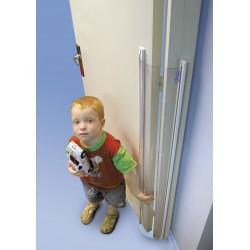 PROTECTOR PUERTA transparente 180ºx120 cm. Adhesiva y/o atornillable