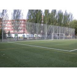 RED DE PROTECCION DE PABELLONES, PP ANTI UV DE 3mm, mallero de 4,5x4,5. Precio m2.