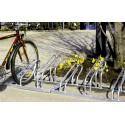PORTABICICLETAS. Modulo para 6 bicicletas para aparcar por un lado