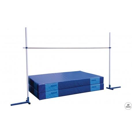 Saltometro escolar de 2,5m.,con bases contrapesadas y pies de goma..Set de 2 unidades