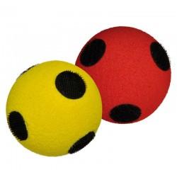 Set de 10 pelotas con velcro