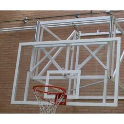 JUEGO DE SISTEMAS DE REGULACIÓN hidráulicos de altura de tablero a baloncesto a minibasket