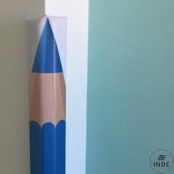 Protege esquinas lapiz. Dimensiones 100x6x6cm