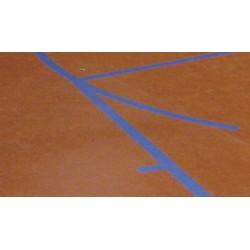 TRAZADO DE LÍNEAS de juego baloncesto 28x15 m.