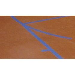TRAZADO DE LINEAS de juego minibasket 24x13 m.