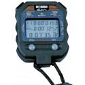 CRONOMETRO deportivo digital,2X60 memorias Con 3 Displays