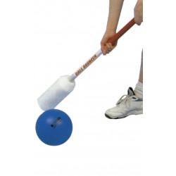 JUEGO BALL BOUNCER: set de 12 sticks con grips de agarre y bola de piel de elefante Ø190mm.