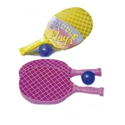 PADEL PLAYA, Juego de 2 raquetas y pelota.