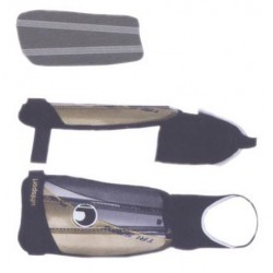 ESPINILLERA Flex Plate, con varillas flexibles