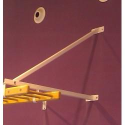 ANCLAJE escalera horizontal, para techo