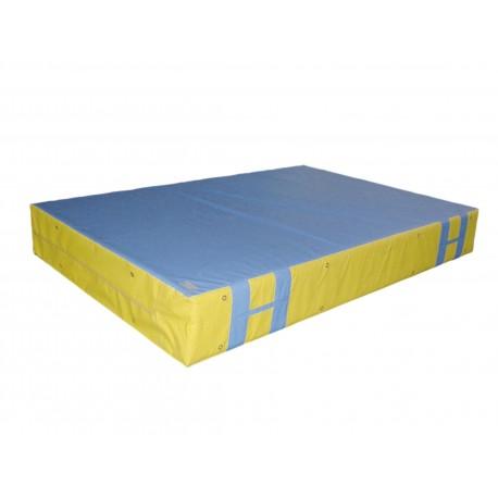 COLCHONETA 3x2x0´4 m., lona plastificada antideslizante, asas y orificios, densidad 25.