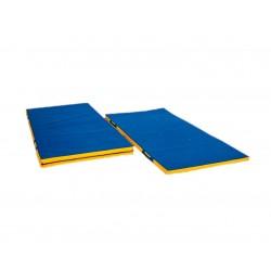 COLCHONETA salida de aparatos 2x1x0´05 m., lona plastificada antideslizante y asas, densidad 150.