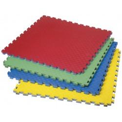 PAVIMENTO PARA ARTES MARCIALES. Tipo puzzle. 100 x 100cm, 2,5 cm de grosor.