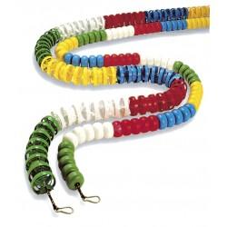 CORCHERA tipo Hélice, antiolas, cuerda de poliéster y mosquetón de acero inoxidable, 25 m.